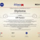 Recibimos un diploma de YBT (Young Business Talents)